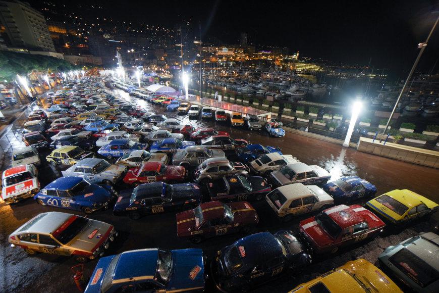 "Ryčio Petrausko/Sunpic.lt nuotr./Pirmoji ""Rallye Monte-Carlo Historique"" diena"
