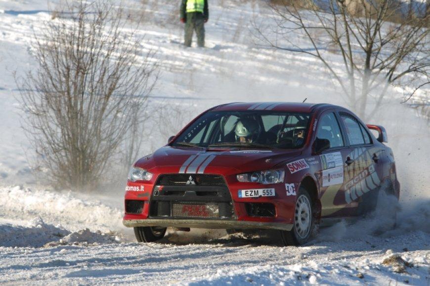 """Halls Winter Rally 2012"" akimirka"
