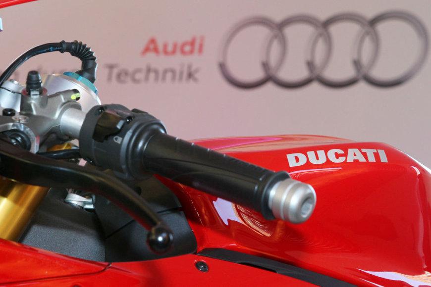 """Audi"" ir ""Ducati"" logotipai"