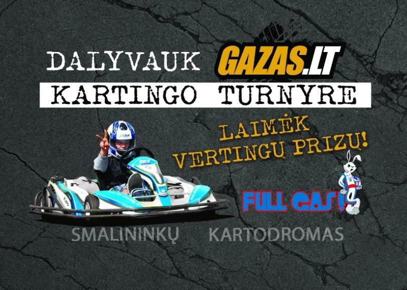 GAZAS.LT kartingo turnyras