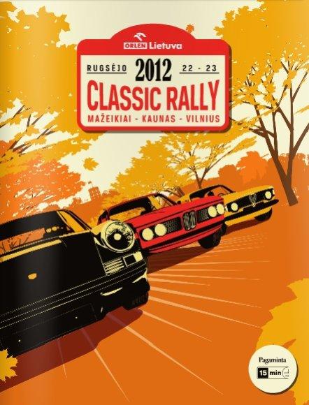 """Orlen Lietuva Classic Rally"" viršelis"