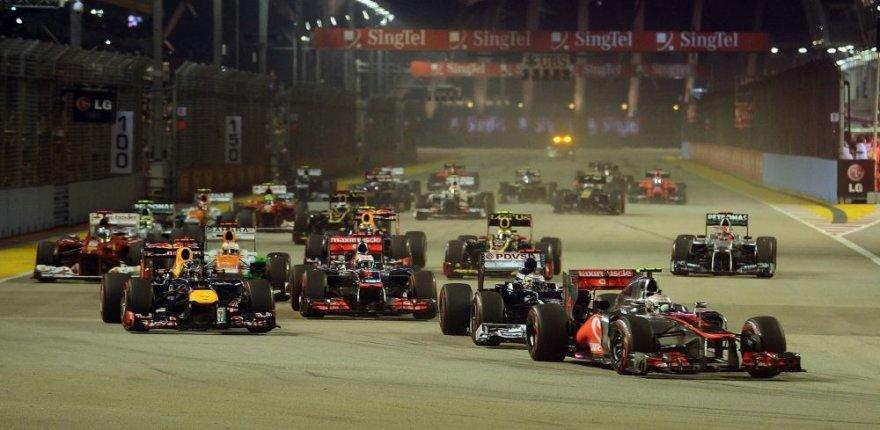 F-1 Singapūro lenktynės