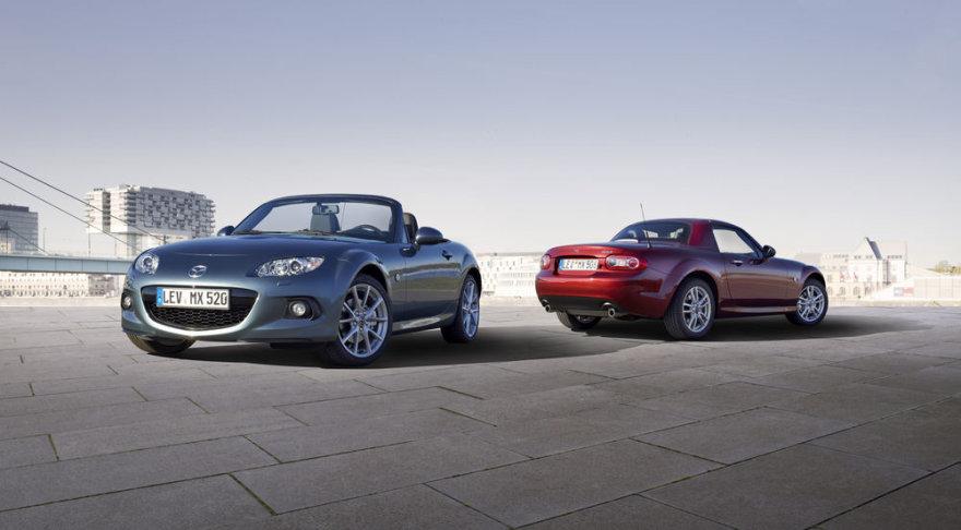 """Atnaujintas """"Mazda MX-5"""""""