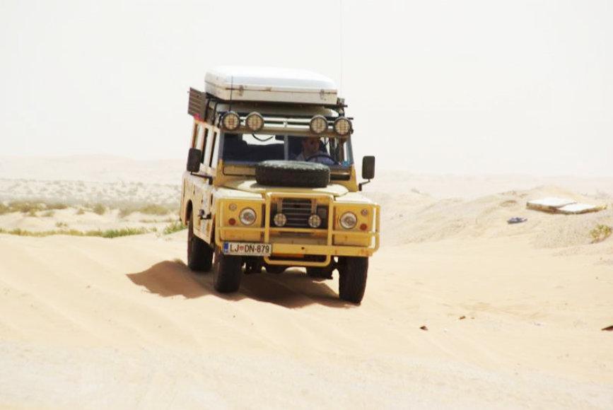 Budapešto-Bamako ralio dalyviai Mauritanijoje