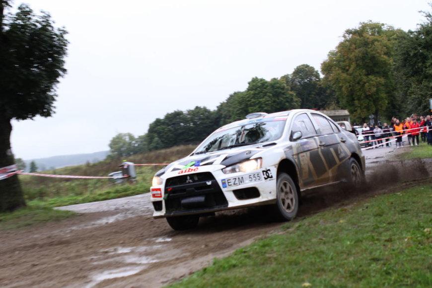 """""""Lotos Rally Poland"""": šeštadienio akimirkos"""