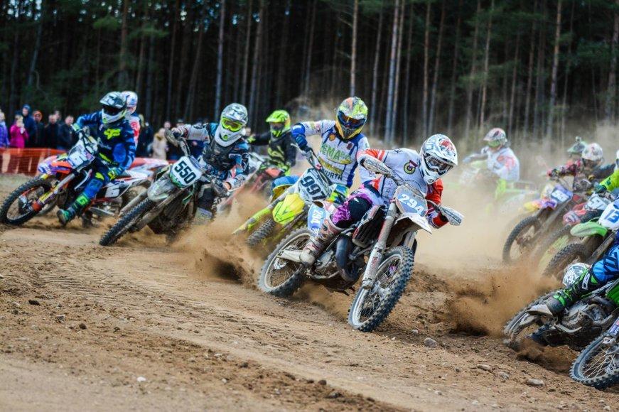 Alfonso Rakausko nuotr./Lietuvos motokroso čempionato pirmasis etapas