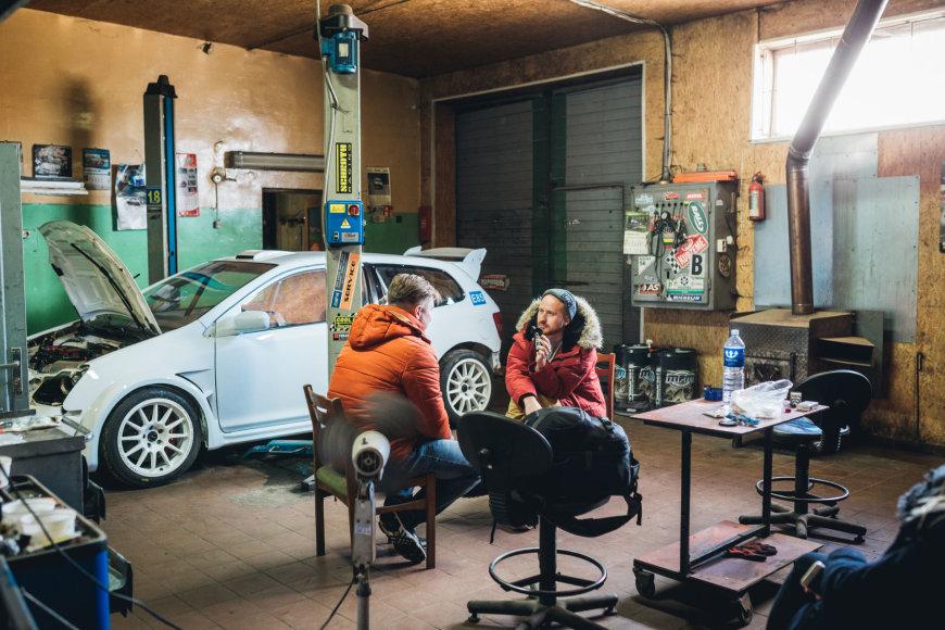 """""""Autoplius.lt Fast Lap"""" nuotr./Juliaus Skirmanto garažas"""