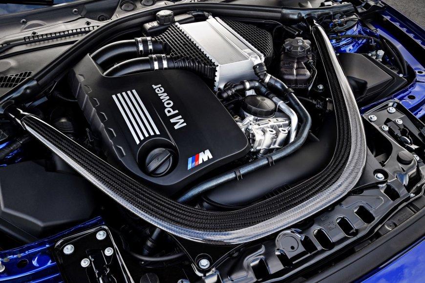 BMW nuotr./BMW M4 CS