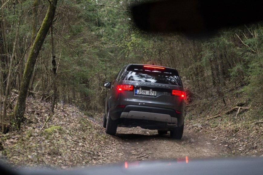 """Land Rover Discovery"" bandymai Lietuvoje"