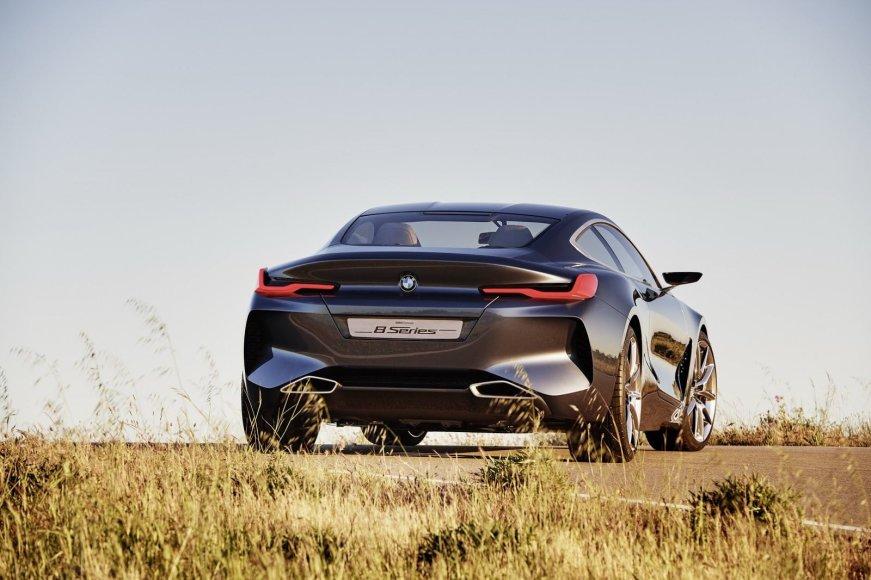 BMW nuotr./BMW 8 serijos koncepcinis modelis