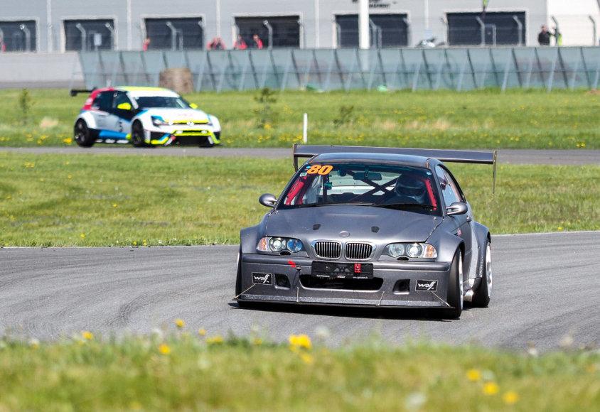 """Baltijos šalių žiedinių lenktynių čempionatas """"Auto24Ring"""" trasoje"""