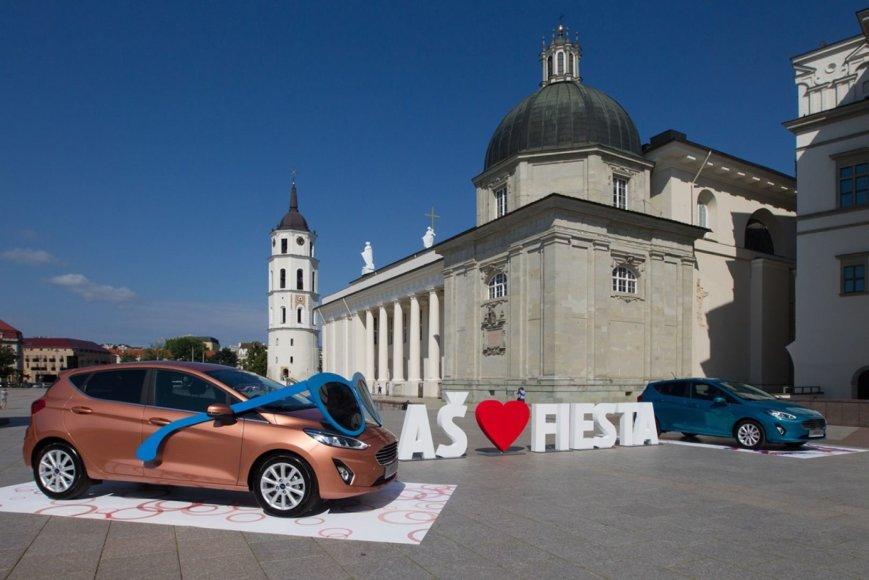 """""""Ford Fiesta"""" debiutas """"Midsummer Vilnius"""" festivalio metu"""