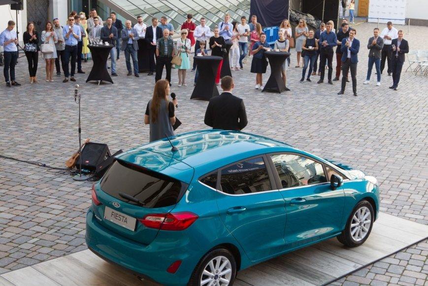 """Inchcape"" nuotr./""Ford Fiesta"" debiutas ""Midsummer Vilnius"" festivalio metu"
