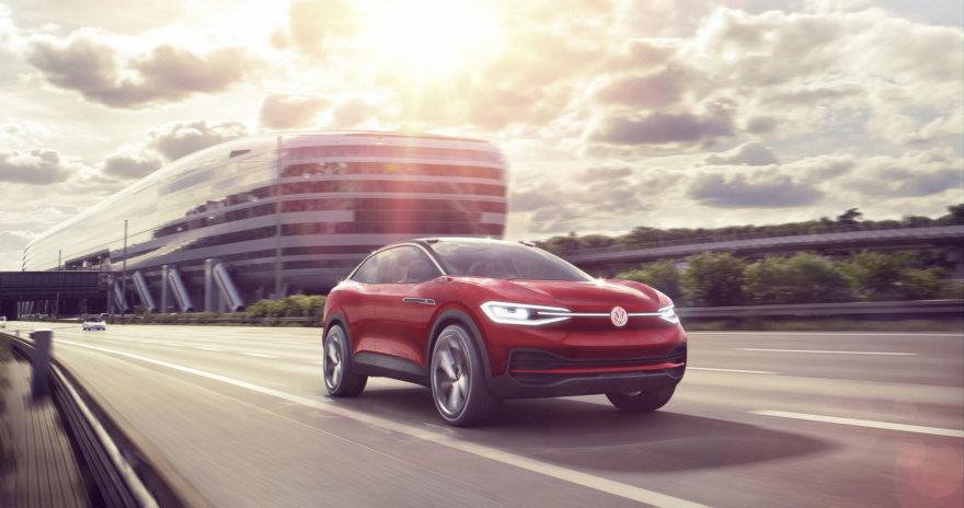 """Volkswagen"" SUV elektromobilis ""ID CROZZ II"""