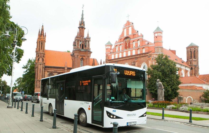 Naujas autobusas