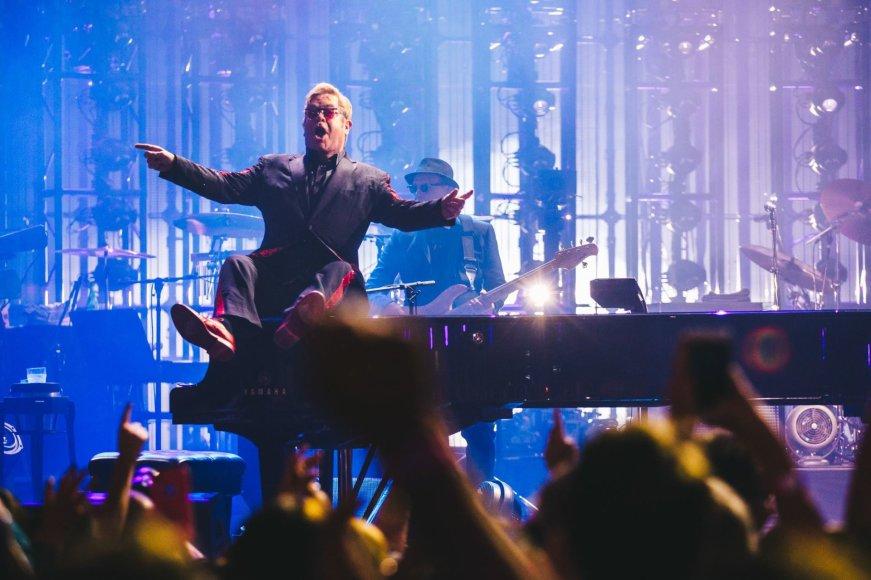 Asmeninio archyvo nuotr./Eltonas Johnas