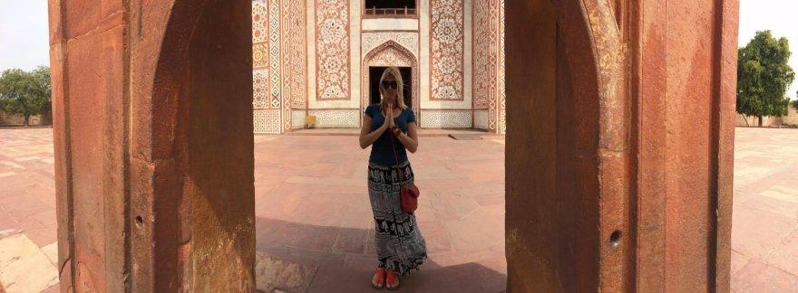 Asmeninio albumo nuotr./Eglės Jackaitės kelionės po Indiją akimirka