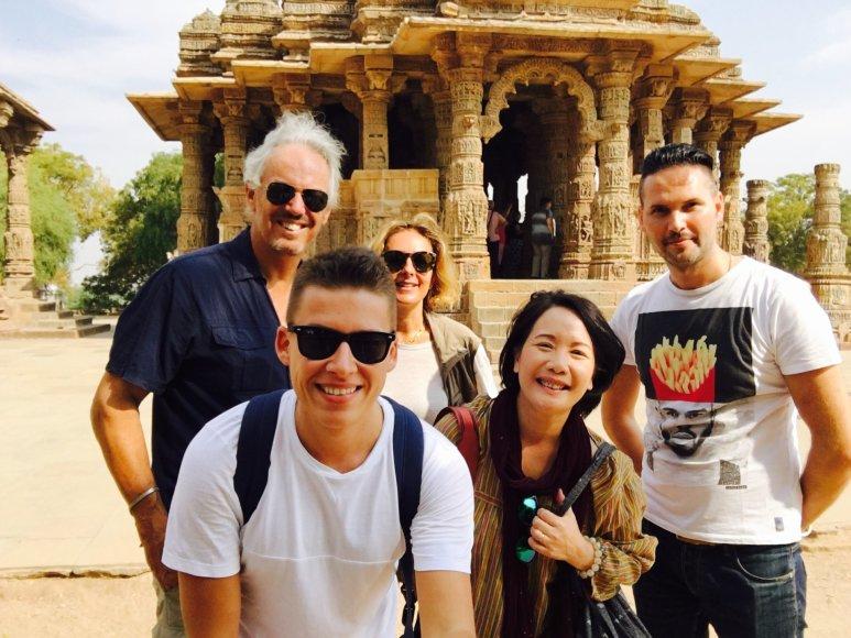 Asmeninio albumo nuotr./Makaliaus atostogų Indijoje akimirka