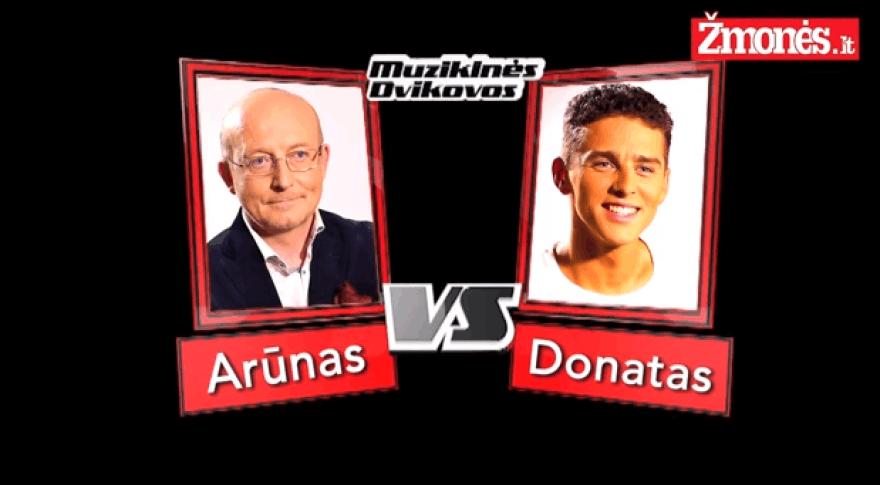 Donatas Montvydas ir Arūnas Valinskas