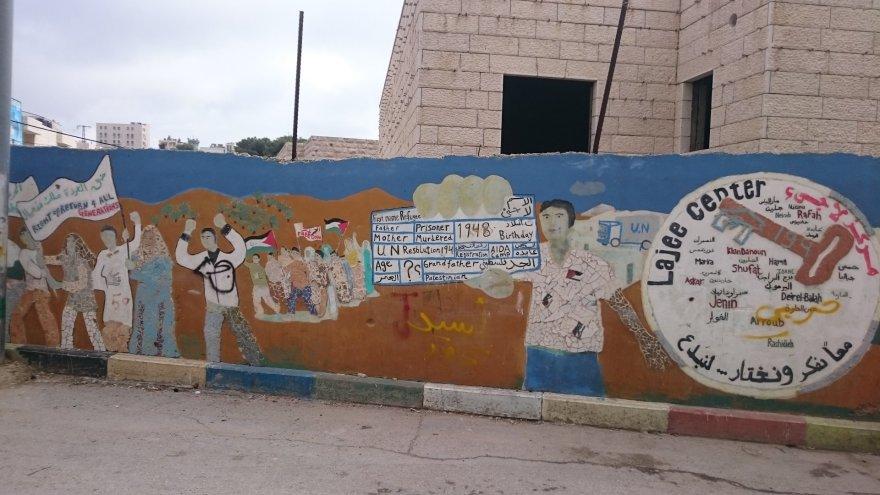 Jono Ohmano ir Manto Pūčio nuotr./Aidos pabėgėlių stovykla Palestinoje