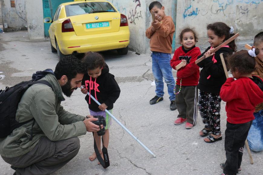Jono Ohmano nuotr./Projekto su Palestinos paaugliais dalyviai Betliejuje
