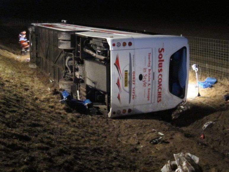 Autobuso avarija