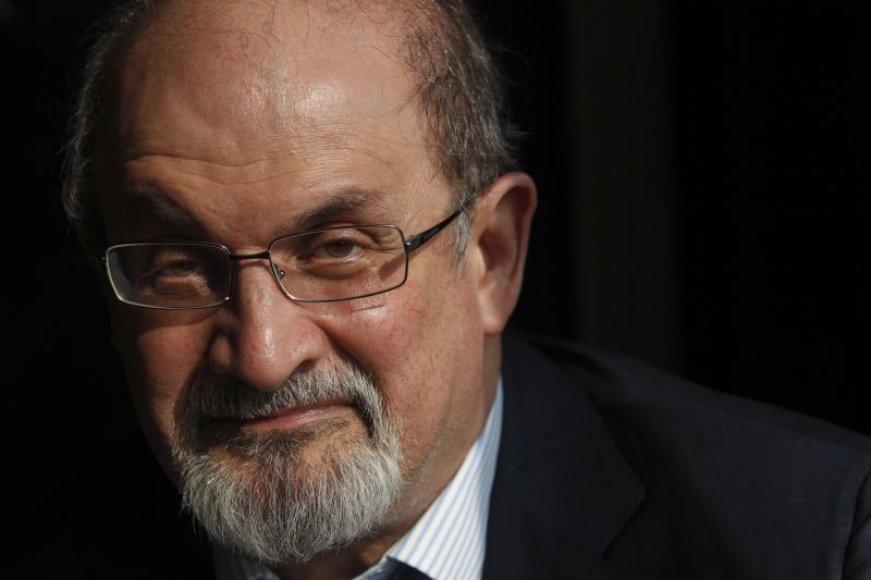 Rašytojas Salmanas Rushdie