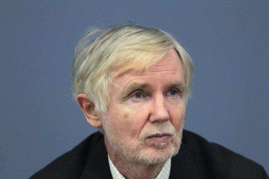 Suomijos diplomatijos vadovas Erkki Tuomioja