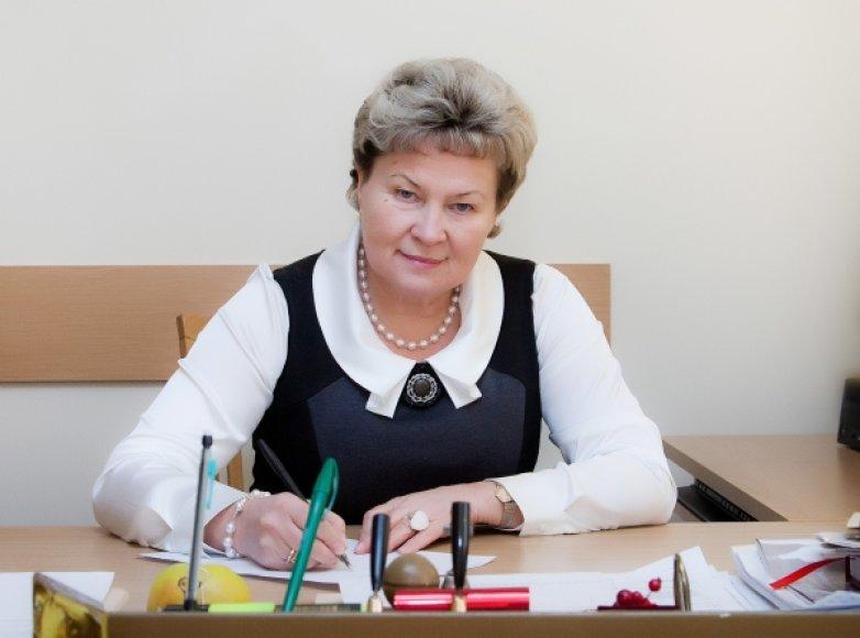 Seimo LSDP frakcijos seniūnė Irena Šiaulienė