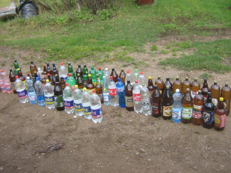 Degtinės buteliai
