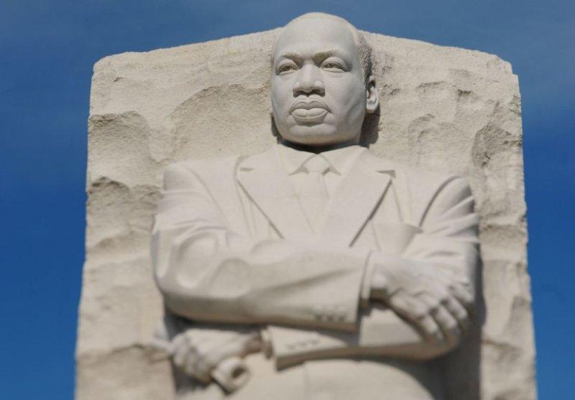 """Martinui Lutheriui Kingui skirtas memorialas """"Vilties akmuo"""""""