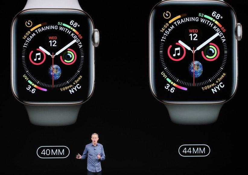 """AFP/""""Scanpix"""" nuotr./""""Apple"""" produktų pristatymas"""