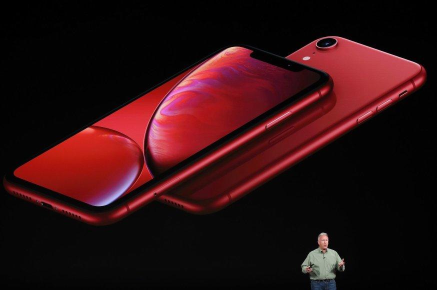 """AFP/""""Scanpix"""" nuotr./""""iPhone XR"""""""
