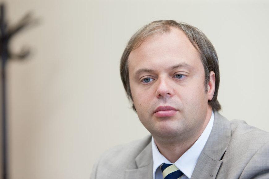 Socialinės apsaugos ir darbo viceministras Audrius Bitinas