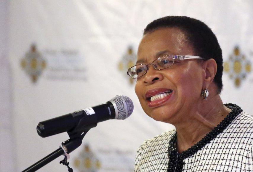 Nelsono Mandelos žmona Graca Machel
