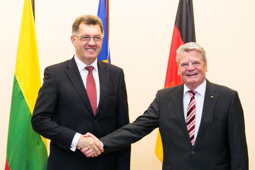 Ministras Pirmininkas Algirdas Butkevičius susitiko su Vokietijos Federacinės Respublikos Prezidentu Joachimu Gaucku