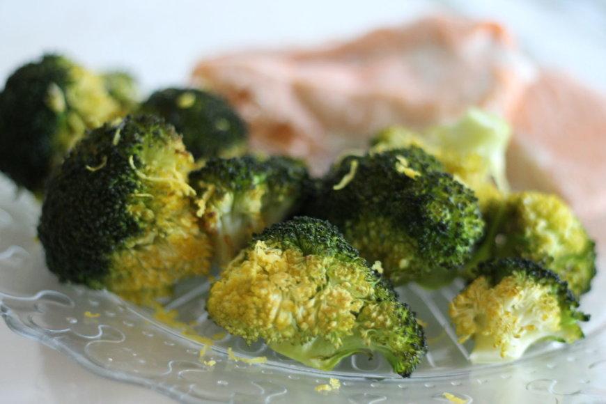 Kepti brokoliai