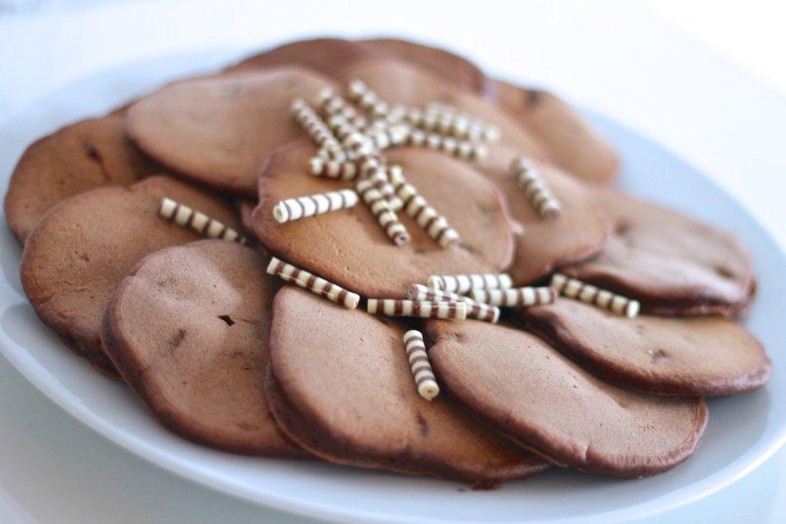 Šokoladiniai blyneliai