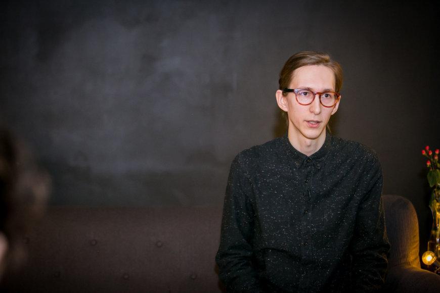 """Renginio organizatorių nuotr./""""CreativeMornings Vilnius"""" renginio akimirka"""