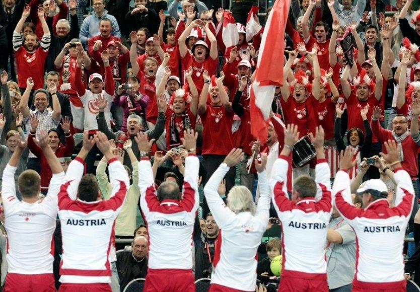 Austrijos teniso rinktinė