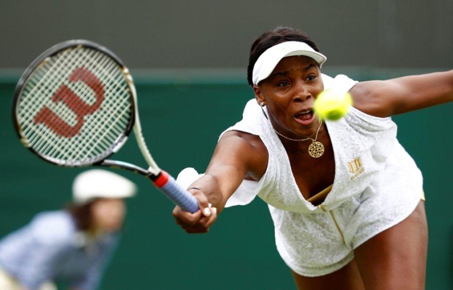 Venus Williams siekia 6 Vimbldono titulo