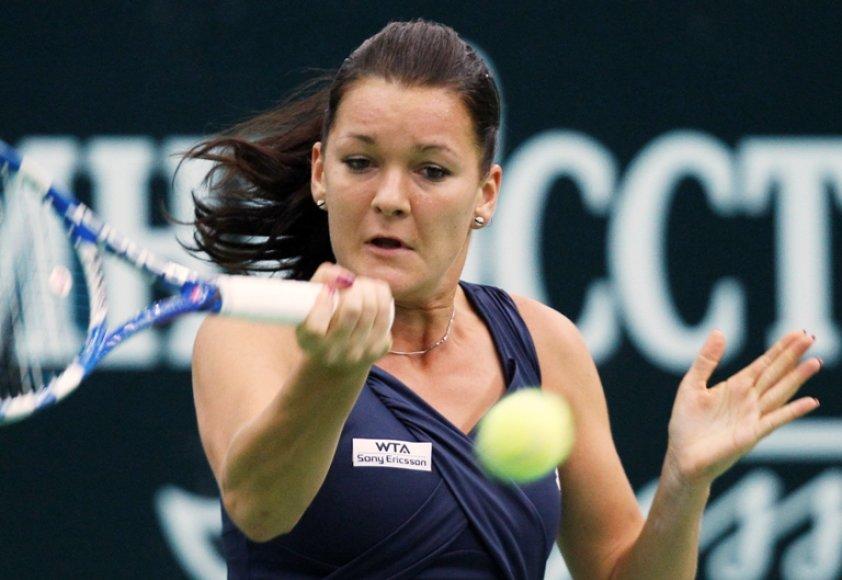 Agnieszka Radwansa gali nepatekti į finalinį metų WTA serijos tunryrą