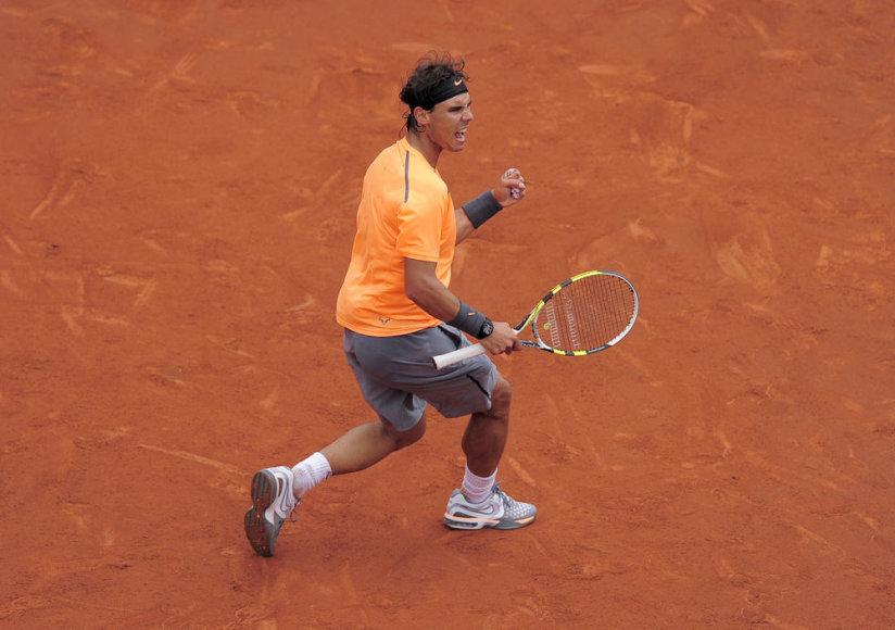 Rafaelis Nadalis Barselonos turnyre iškovojo 33-ią pergalę iš eilės
