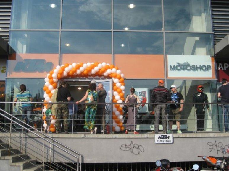 KTM salono atidarymas Vilniuje