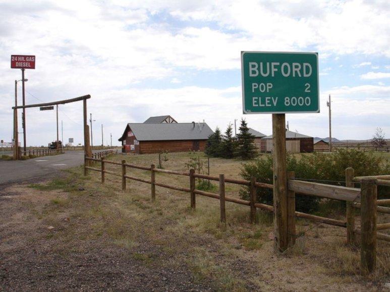 Bufordas,Vajomingo valstijoje
