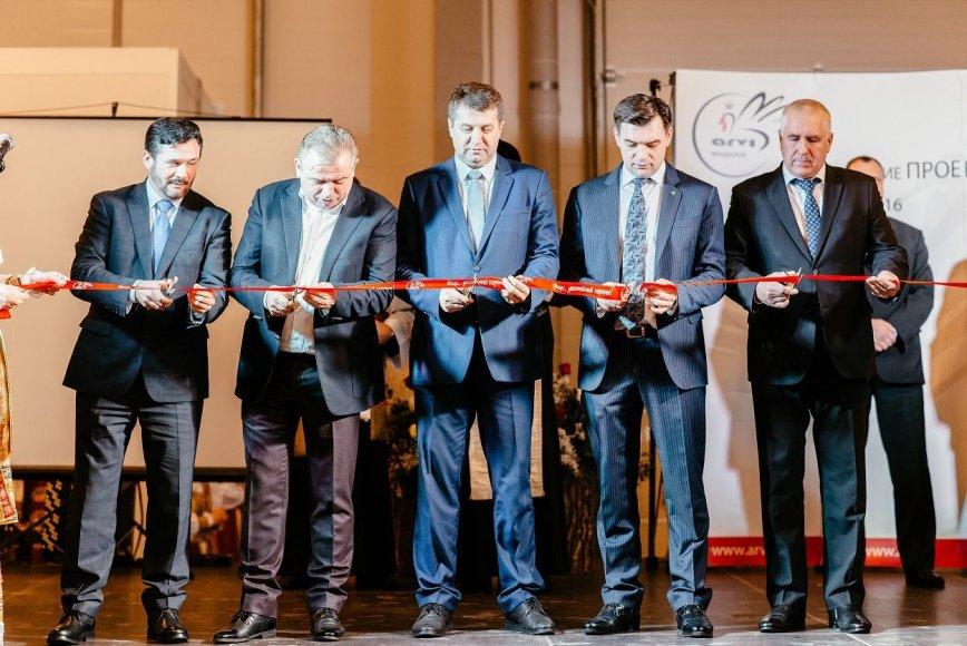 """""""Arvi"""" nuotr./""""Arvi"""" komplekso atidarymas Baltarusijoje"""