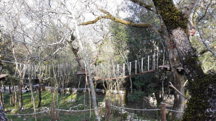Jurgitos Lapienytės nuotr./Nuotykių parkas netoli Dubrovniko