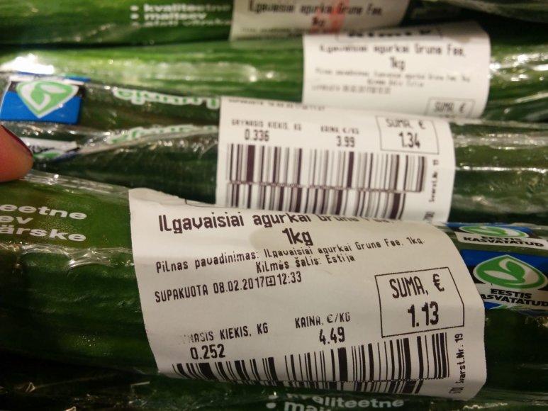15min.lt nuotr./Estiški agurkai