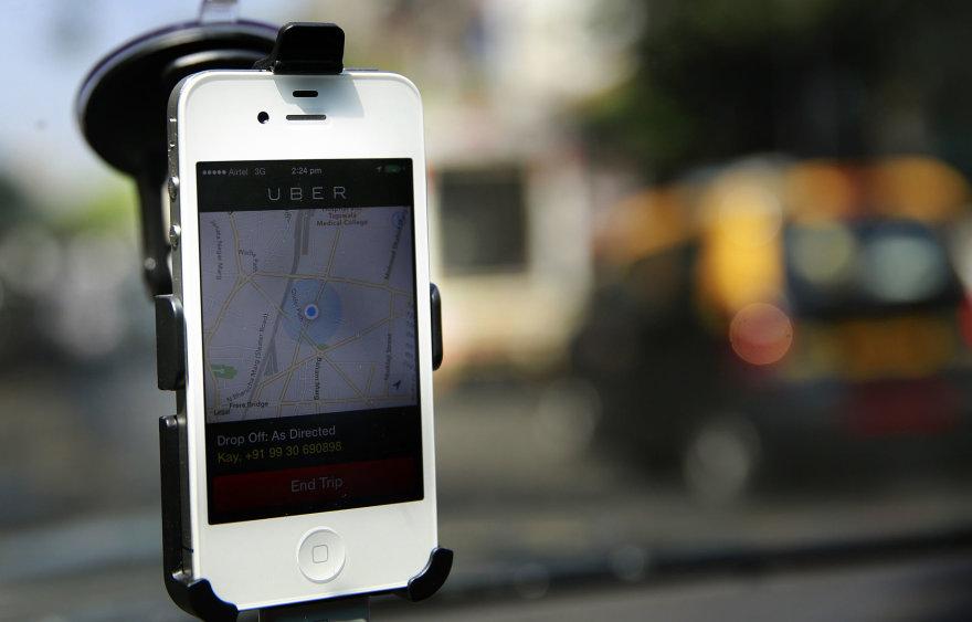 "AFP/""Scanpix"" nuotr./""Uber"""