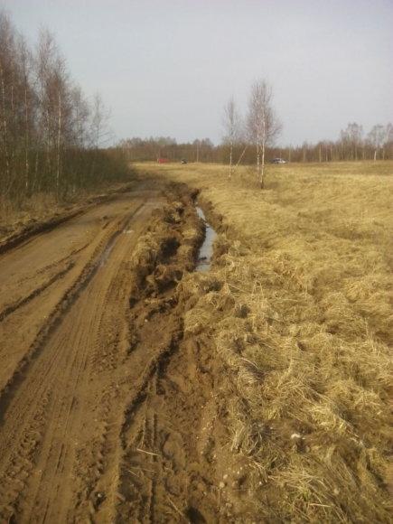 Vilniaus r. sav. nuotr./Kelias į Batviniškių kaimą